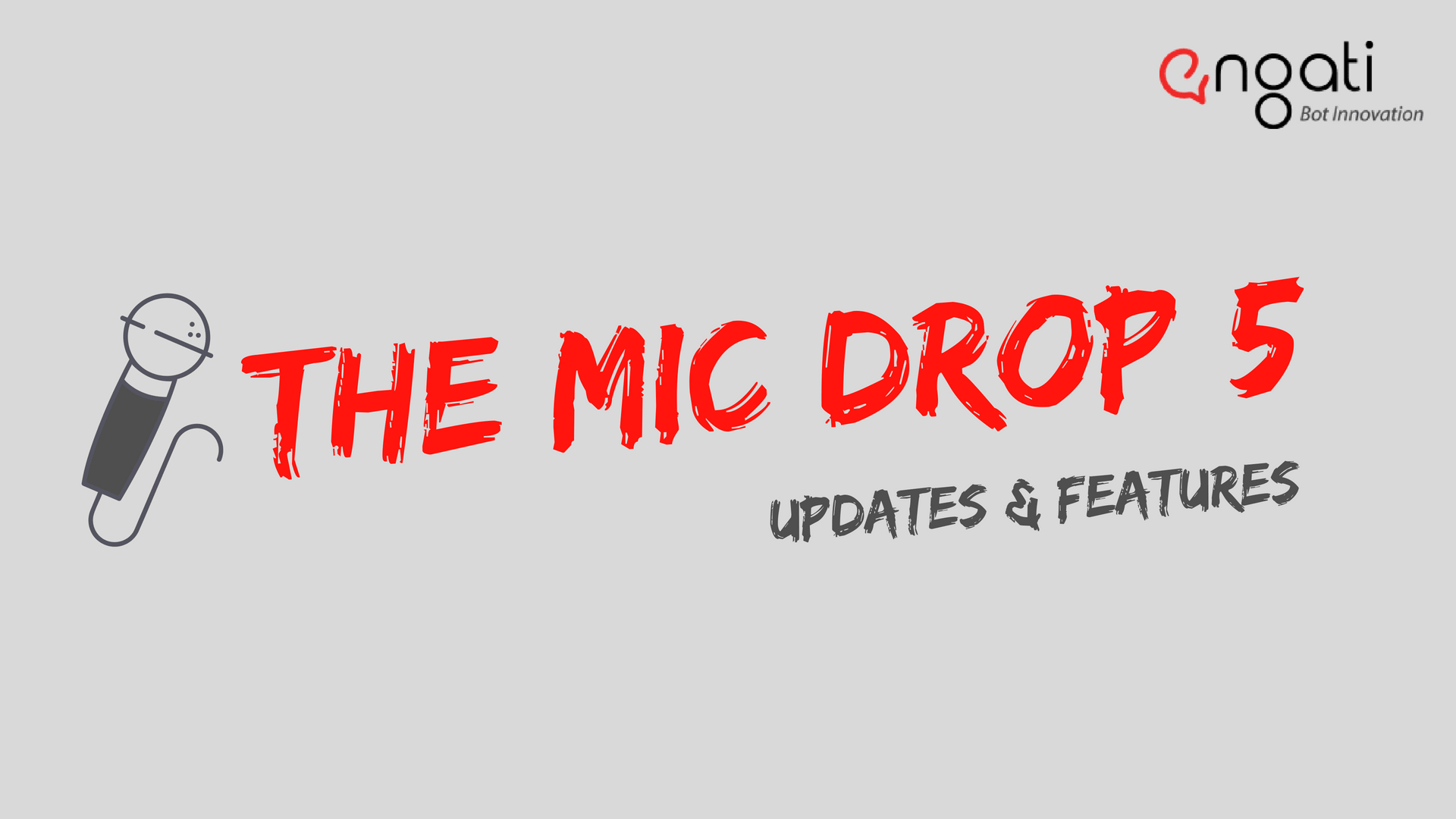 Mic Drop 5: New releases & updates