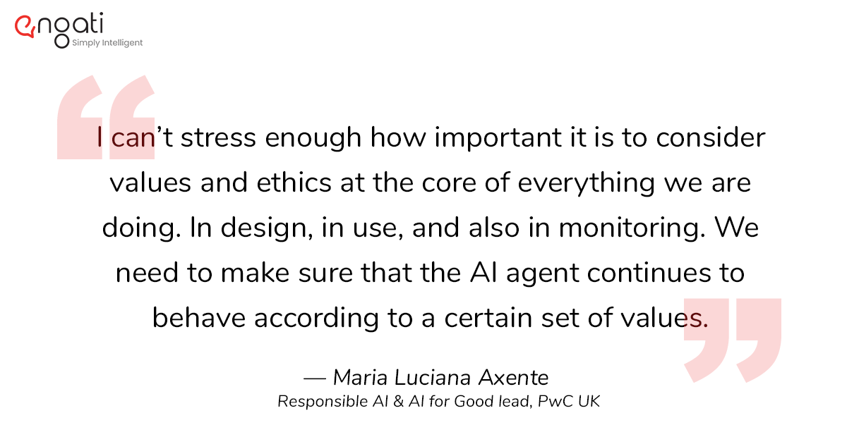 Ethics has to be a the core of artificial intelligence