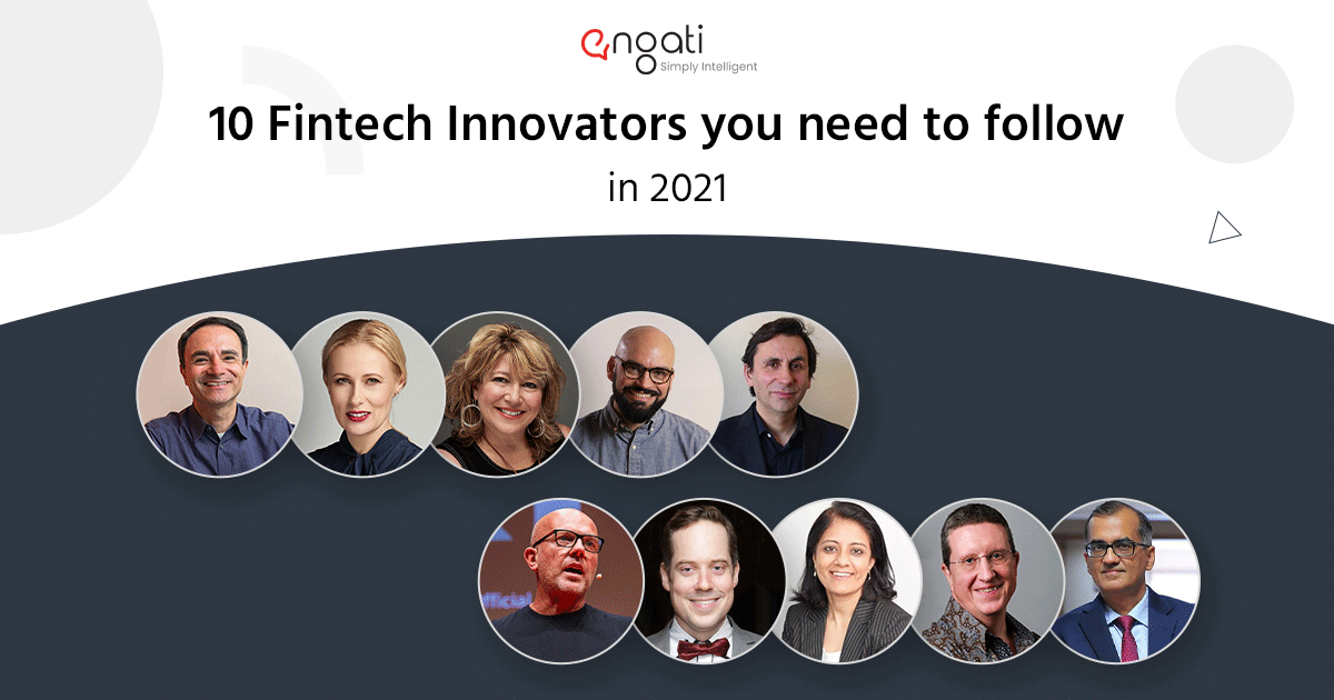 Top 10 Fintech Innovators you need to follow in 2021