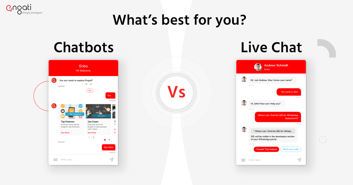Bots v/s live chat | What does your business need?