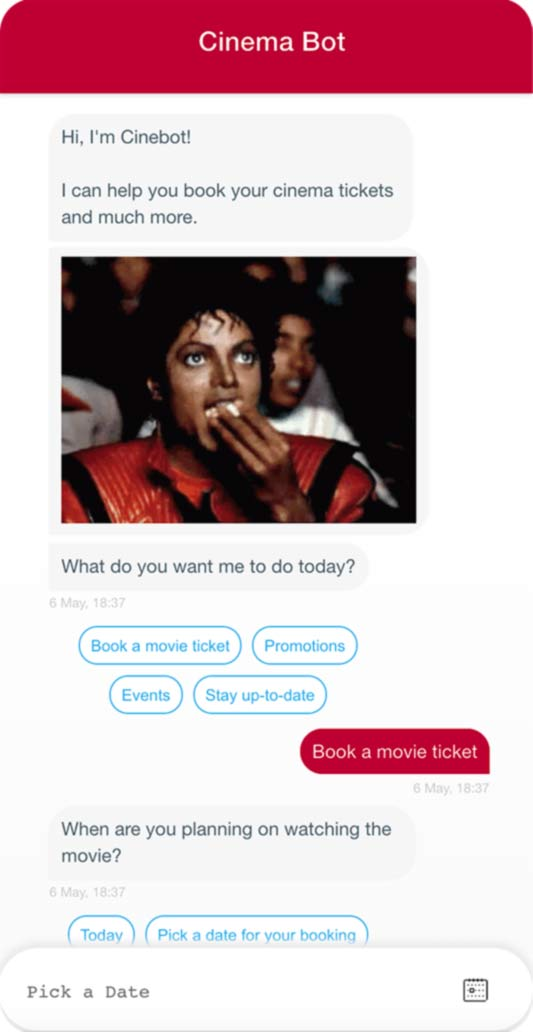 Cinema Chatbot
