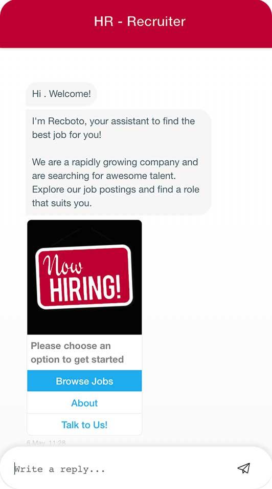 Recruitment Chatbot