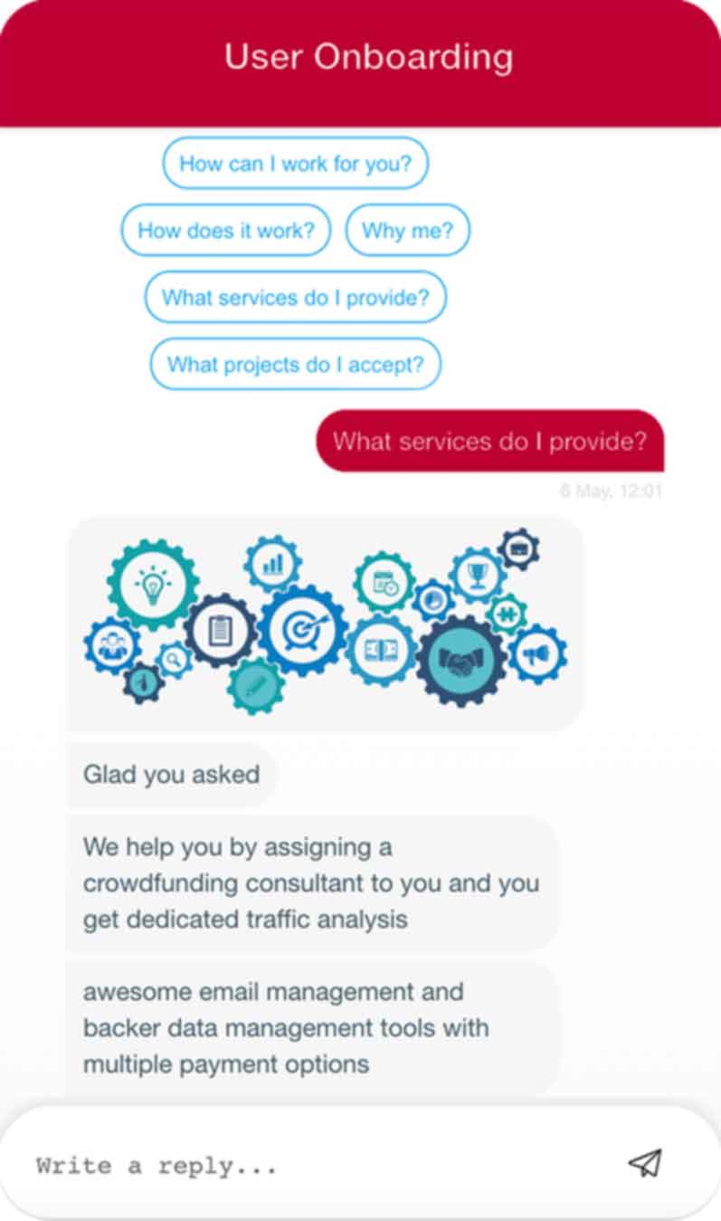Employee onboarding chatbot