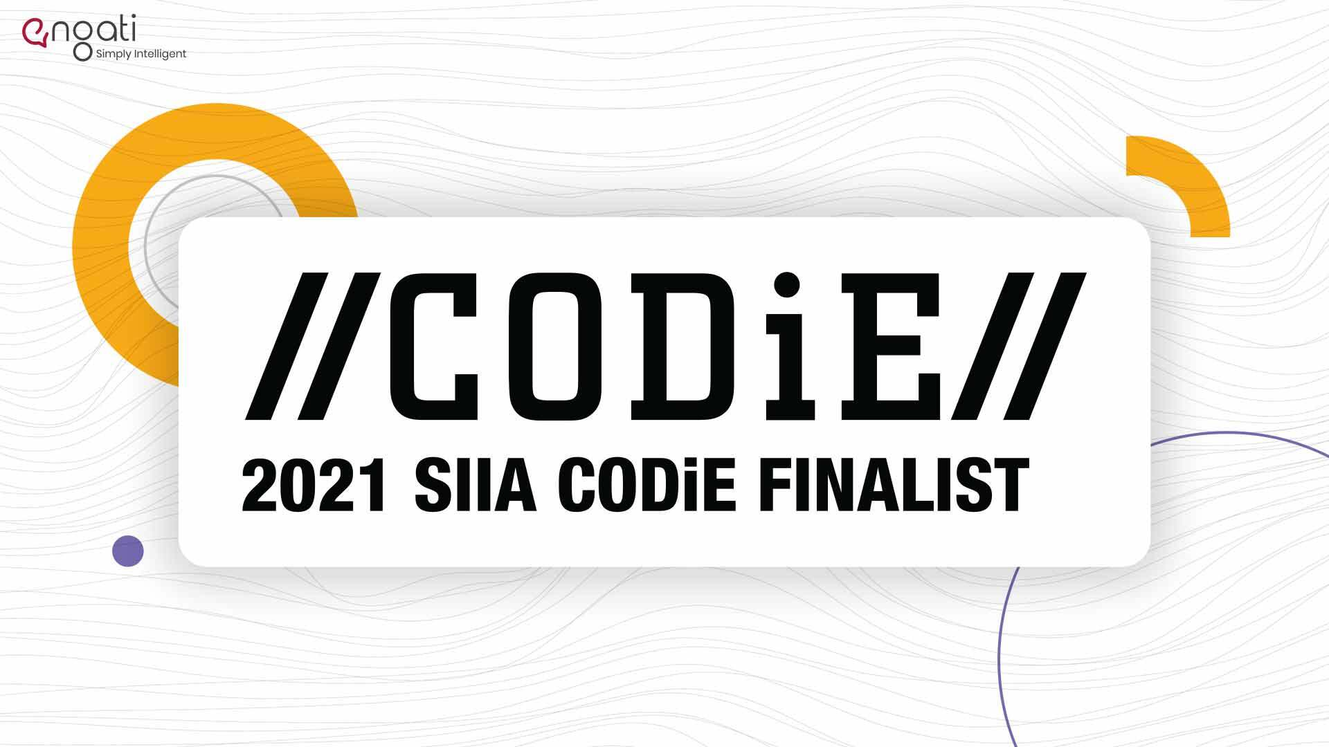 Breaking news: SIIA announces Engati as a finalist for the 2021 CODiE Awards