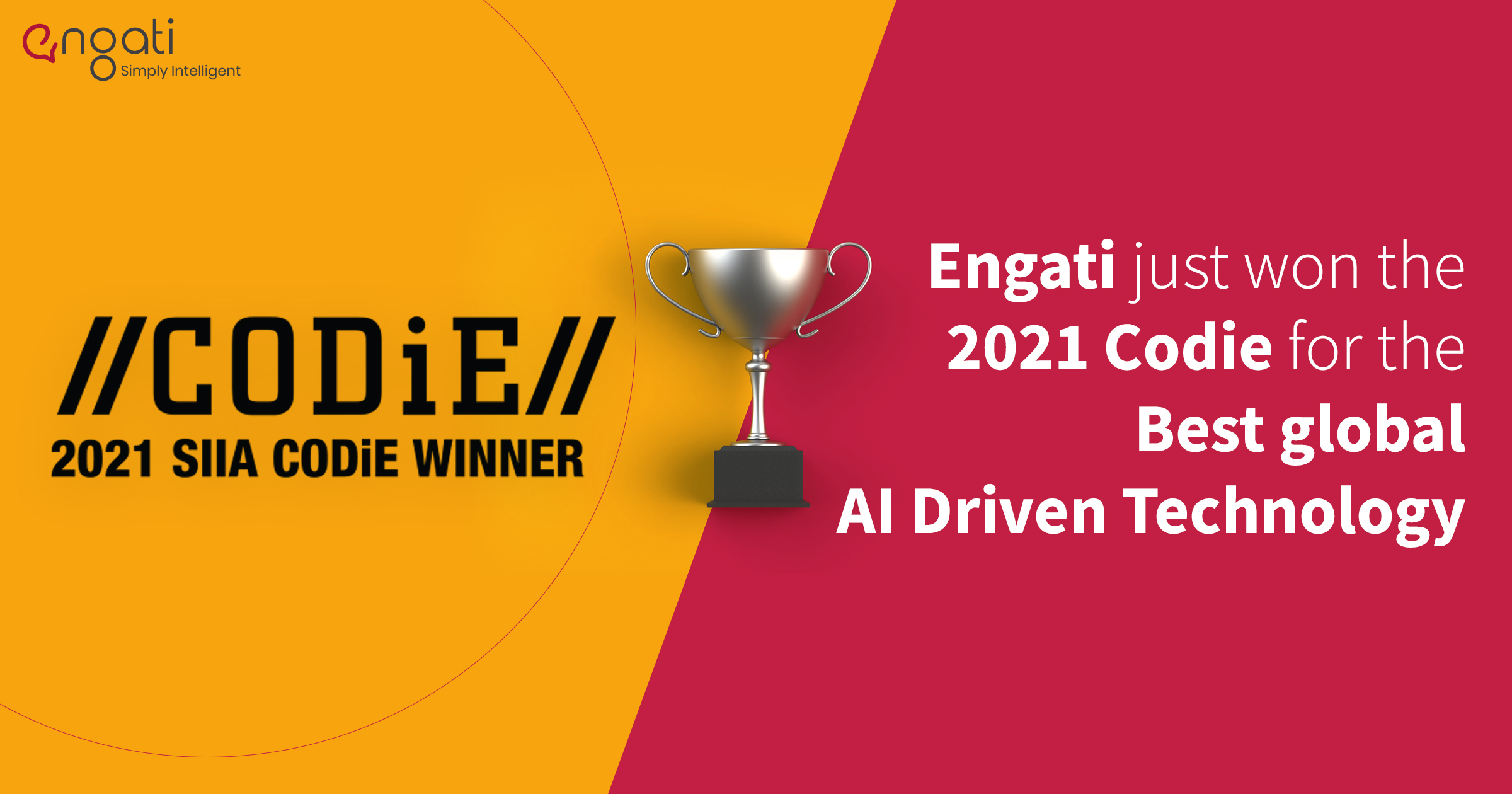 Breaking news: SIIA announces Engati as the winner of the 2021 CODiE Awards