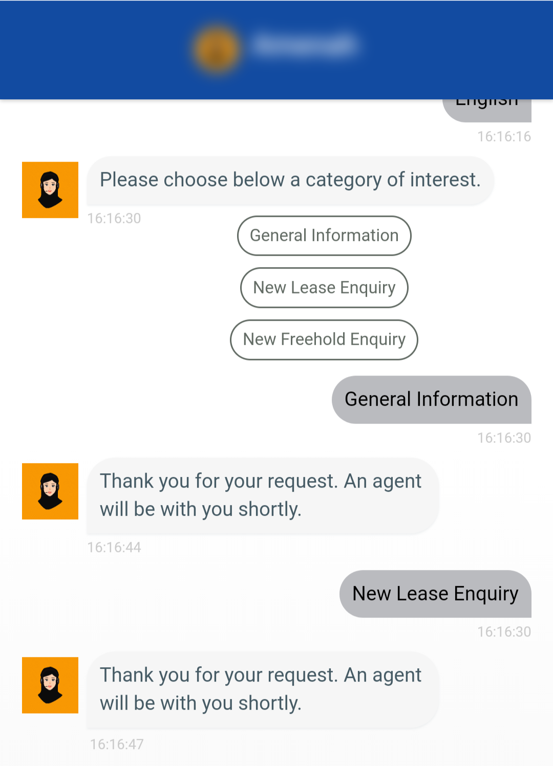 real estate chatbot