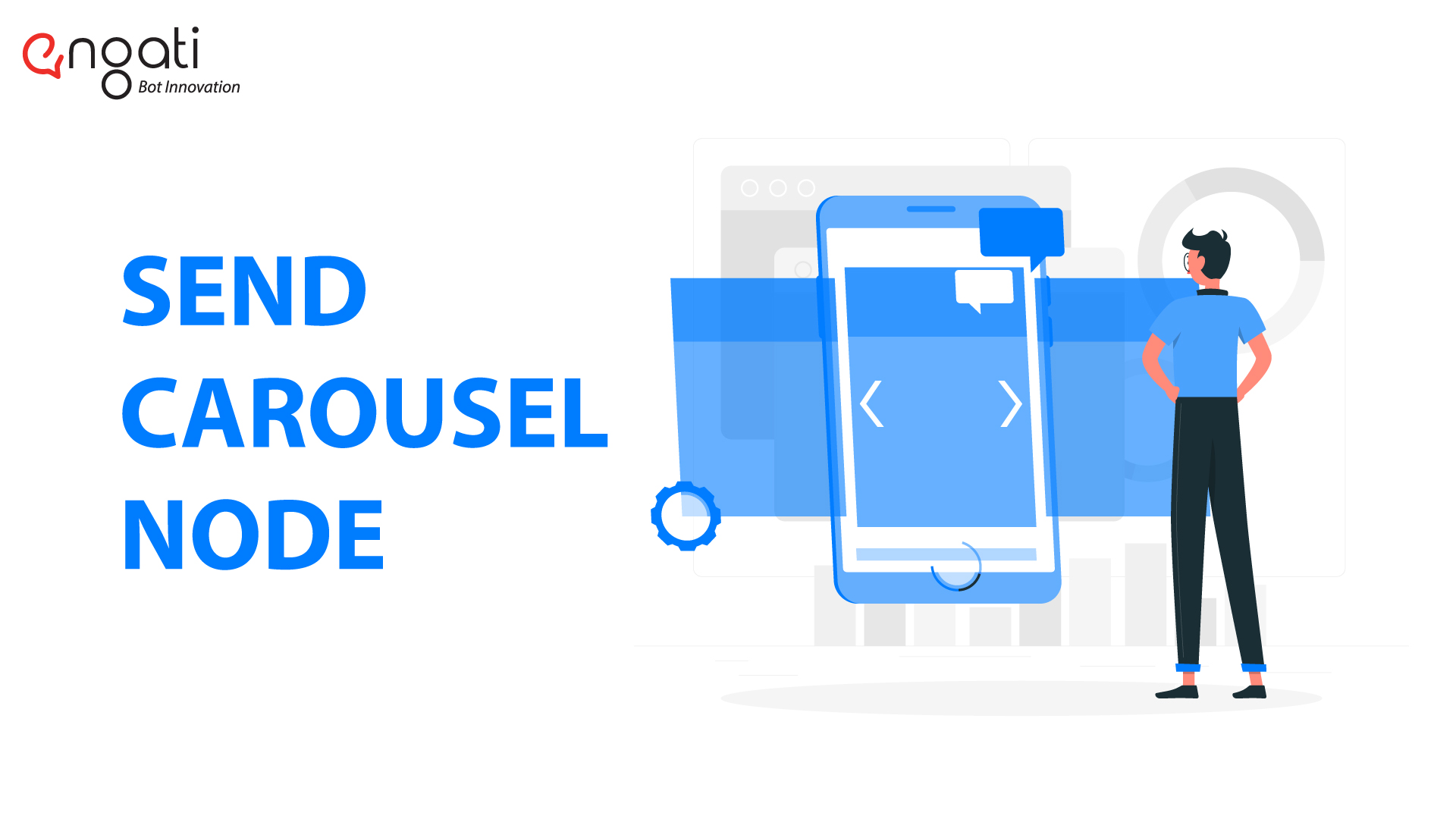 send carousel with chatbot