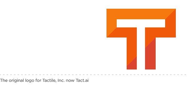 original logo for Tactile, Inc. now Tact.ai
