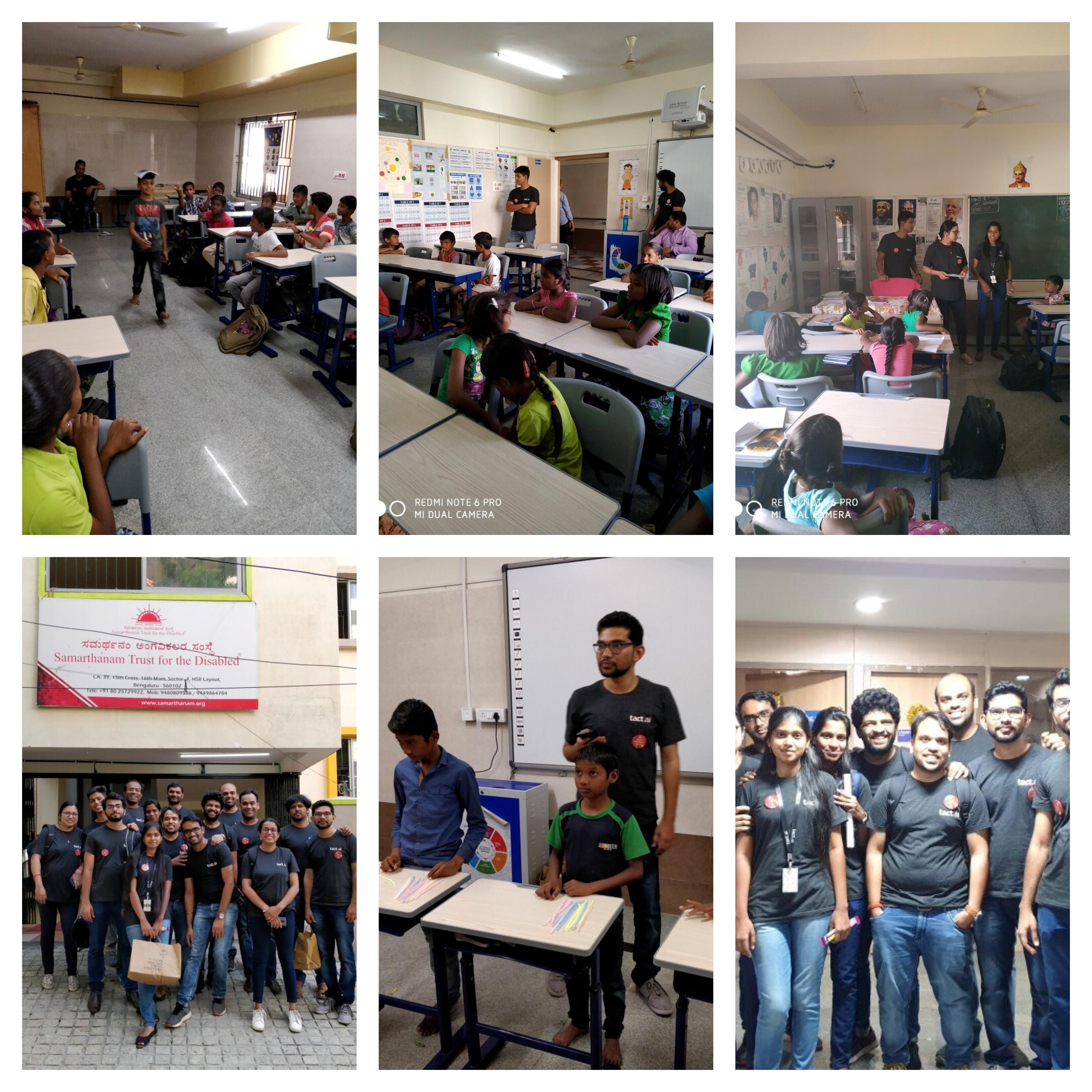 Volunteering Tact India
