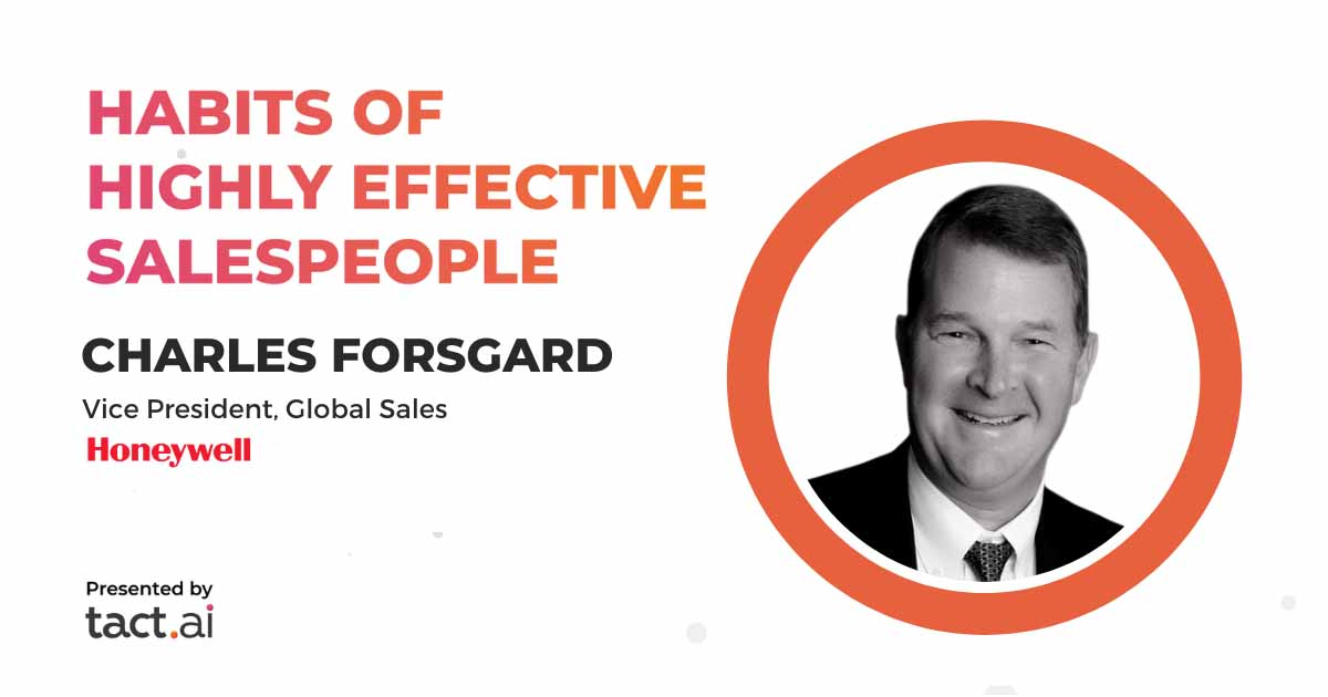 Honeywell's VP of Global Sales on the New Way to Sell