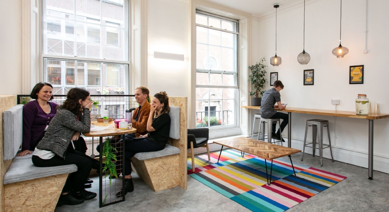 Runway East | Office design and fit out | Interaction