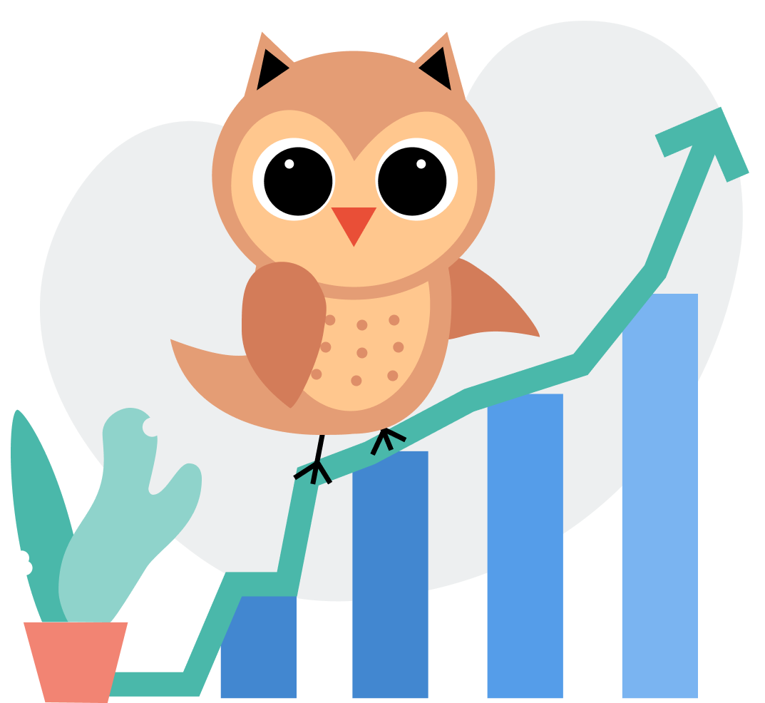 Owl with a graph
