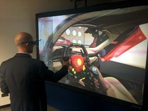 Virtalis has designed a new super-transportable VR display system to show off its market-leading Visionary Render software