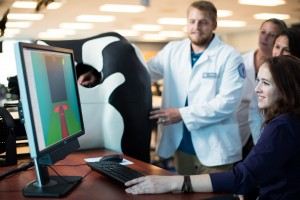Veterinary students are impressed by the realism of the virtual experience.