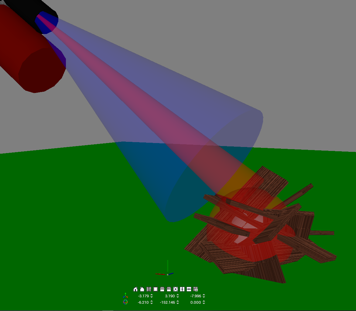 Image showing collision based detection