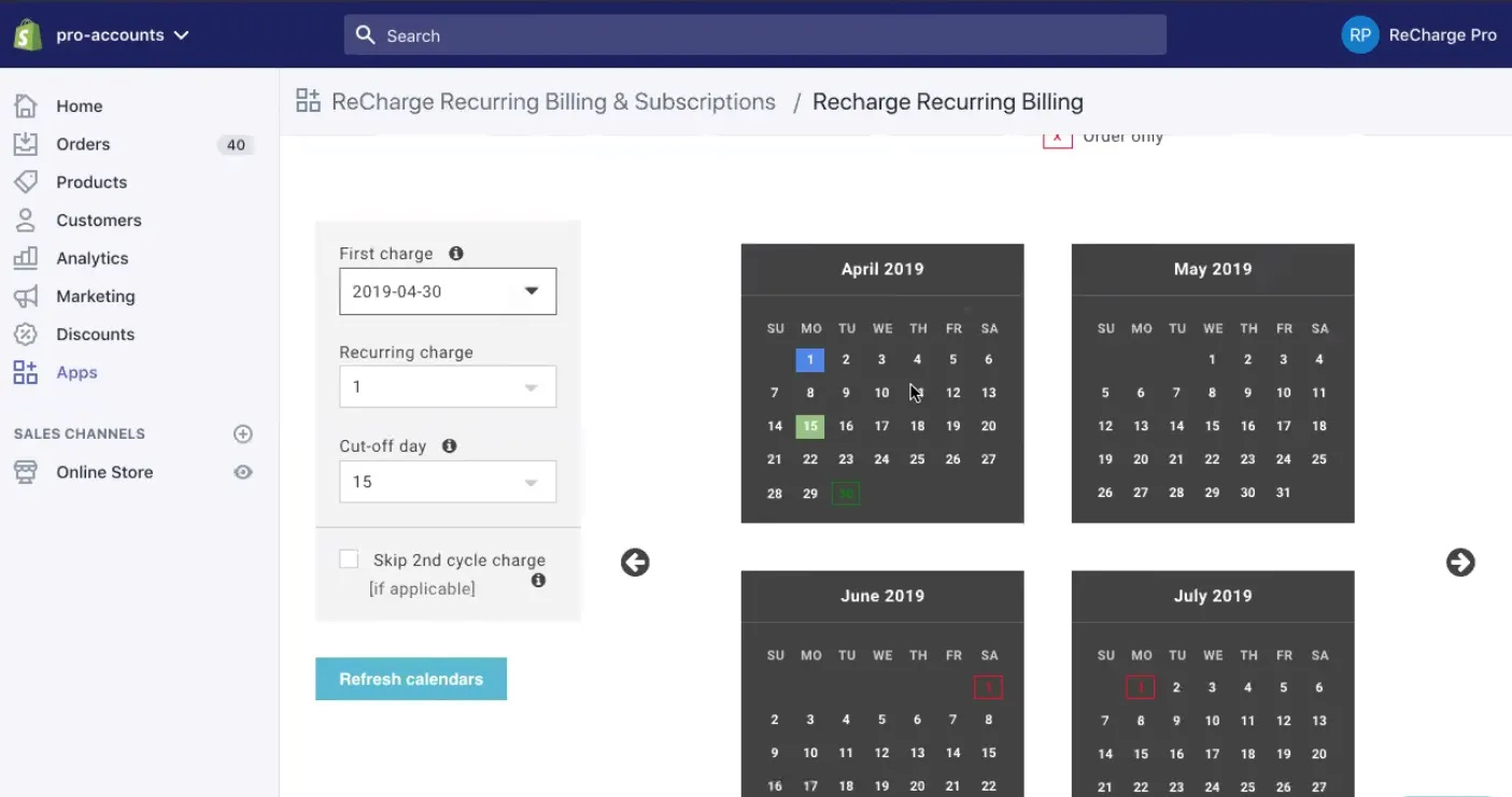 ReCharge Recurring Billing and Subscriptions