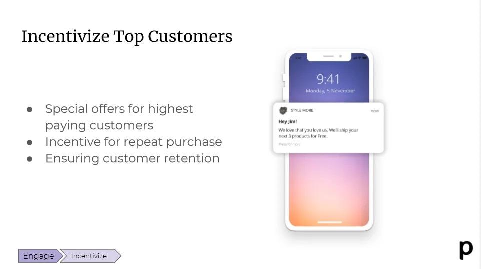 Plobal incentivize top customer