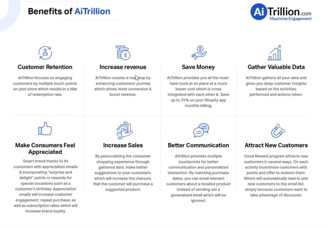 AITrillion benefits