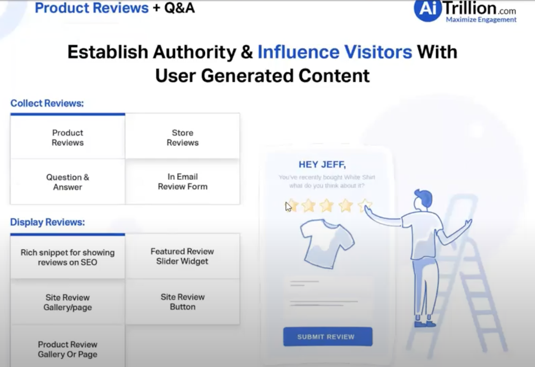 AITrillion User Generated Reviews