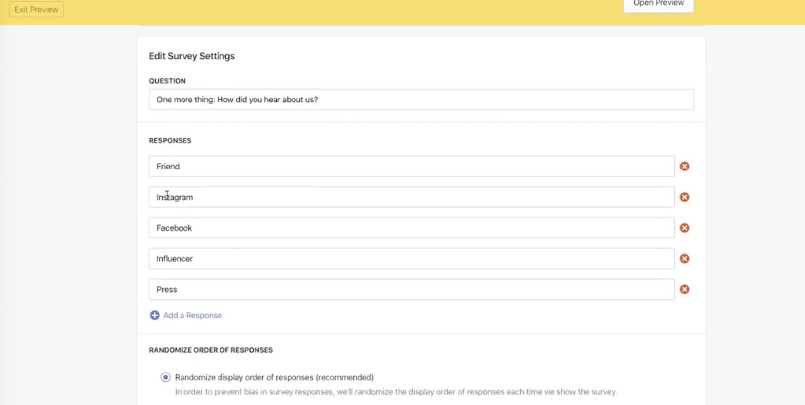 Enquire Labs Survey Creation