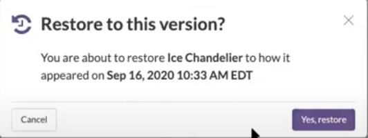 Rewind_Restore Confirmation