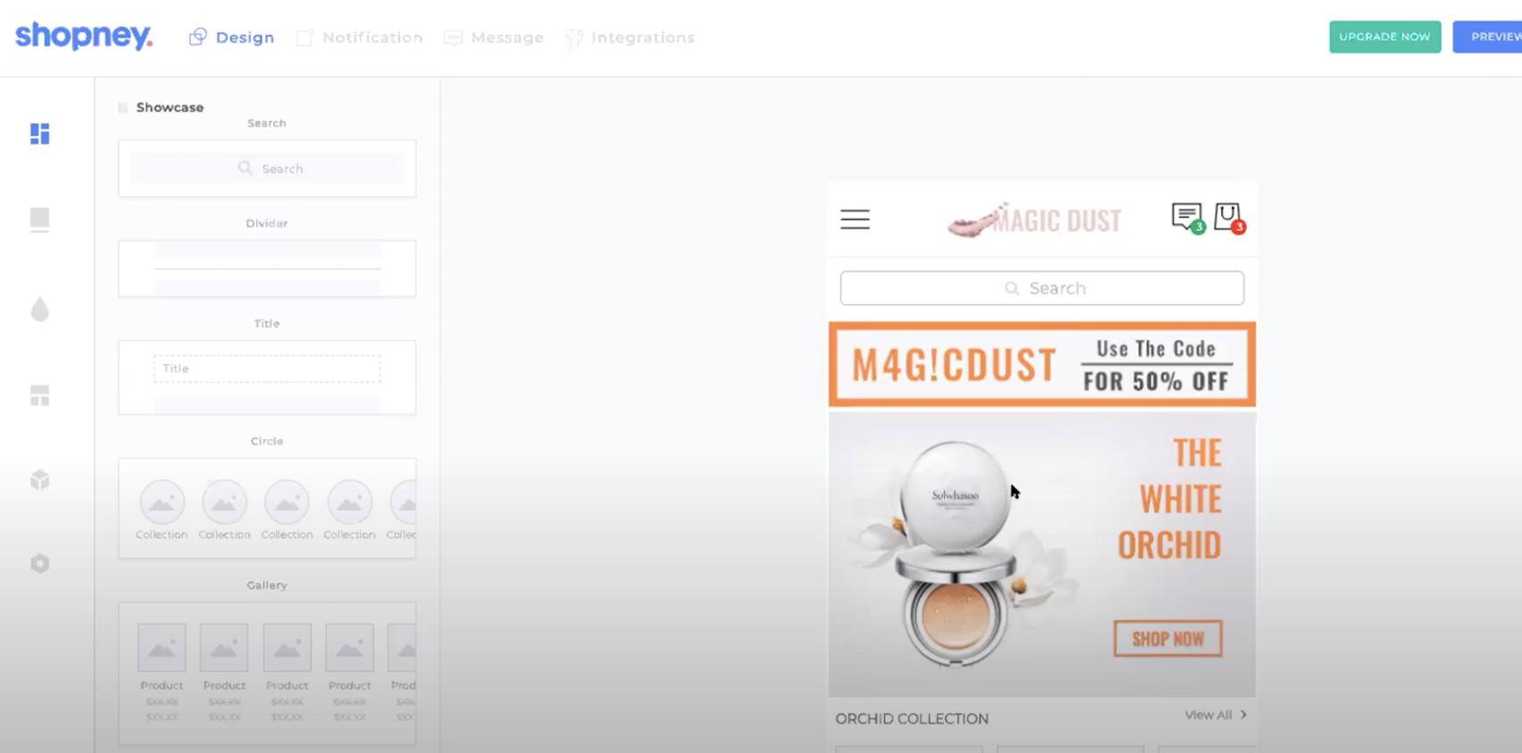 Shopney_Homepage Design
