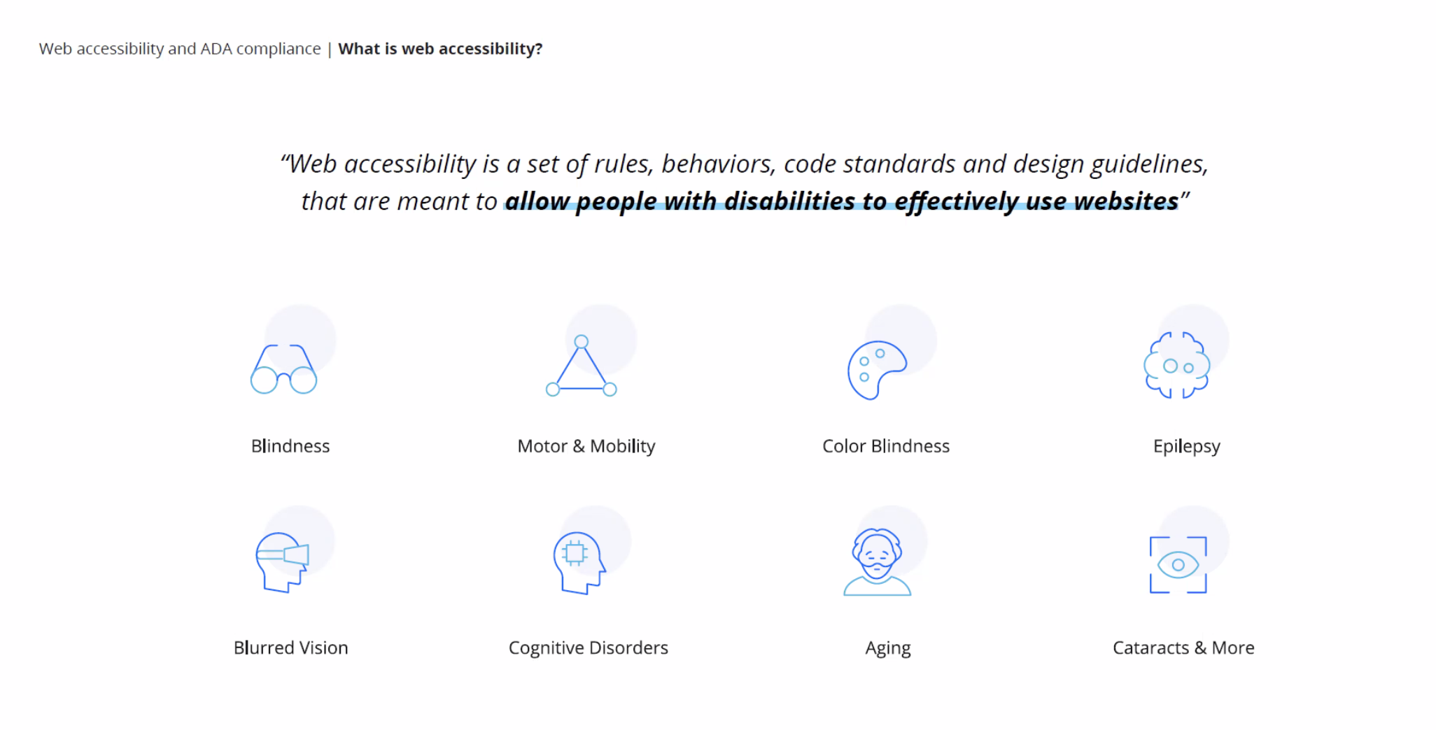 accessiBe what is web accessibility