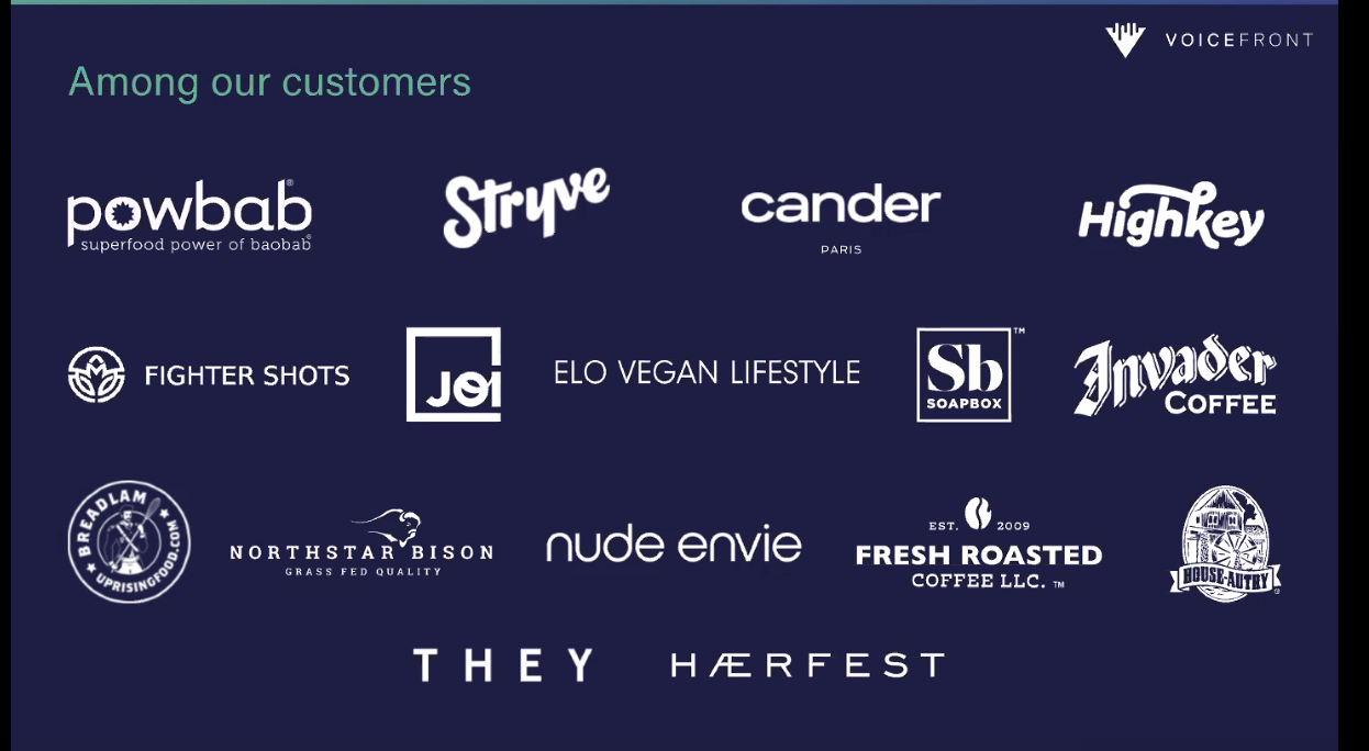 Voicefront customers