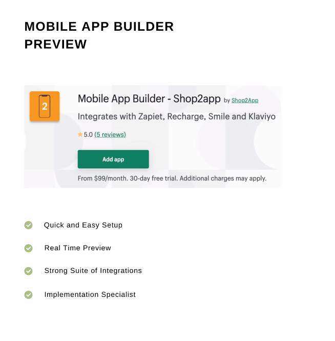 Shop2App preview