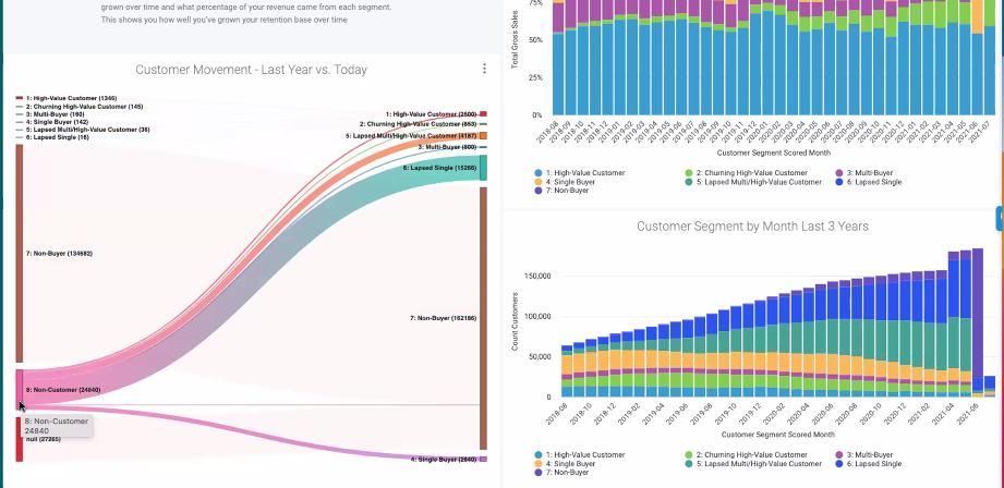 Daasity Report Graphs