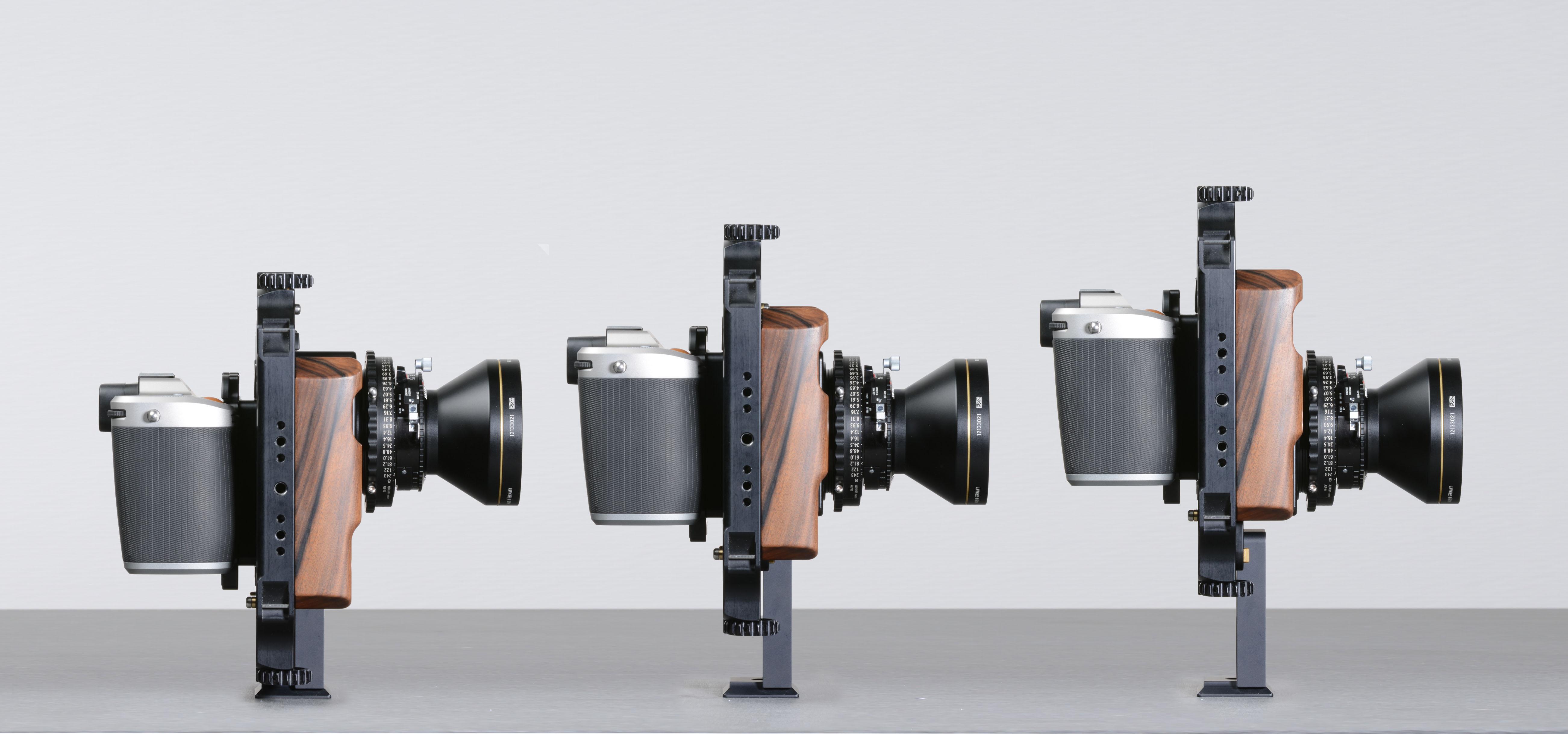 Hasselblad H1D on ALPA 12 MAX with HR ALPAGON 5.6/90 mm