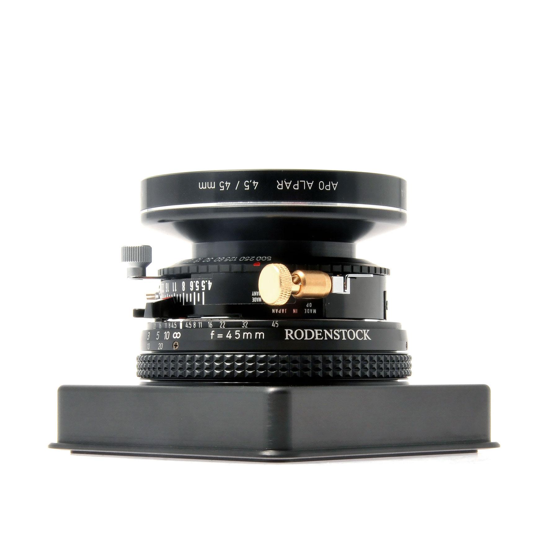 ALPA Apo-Alpar 4.5/45 mm