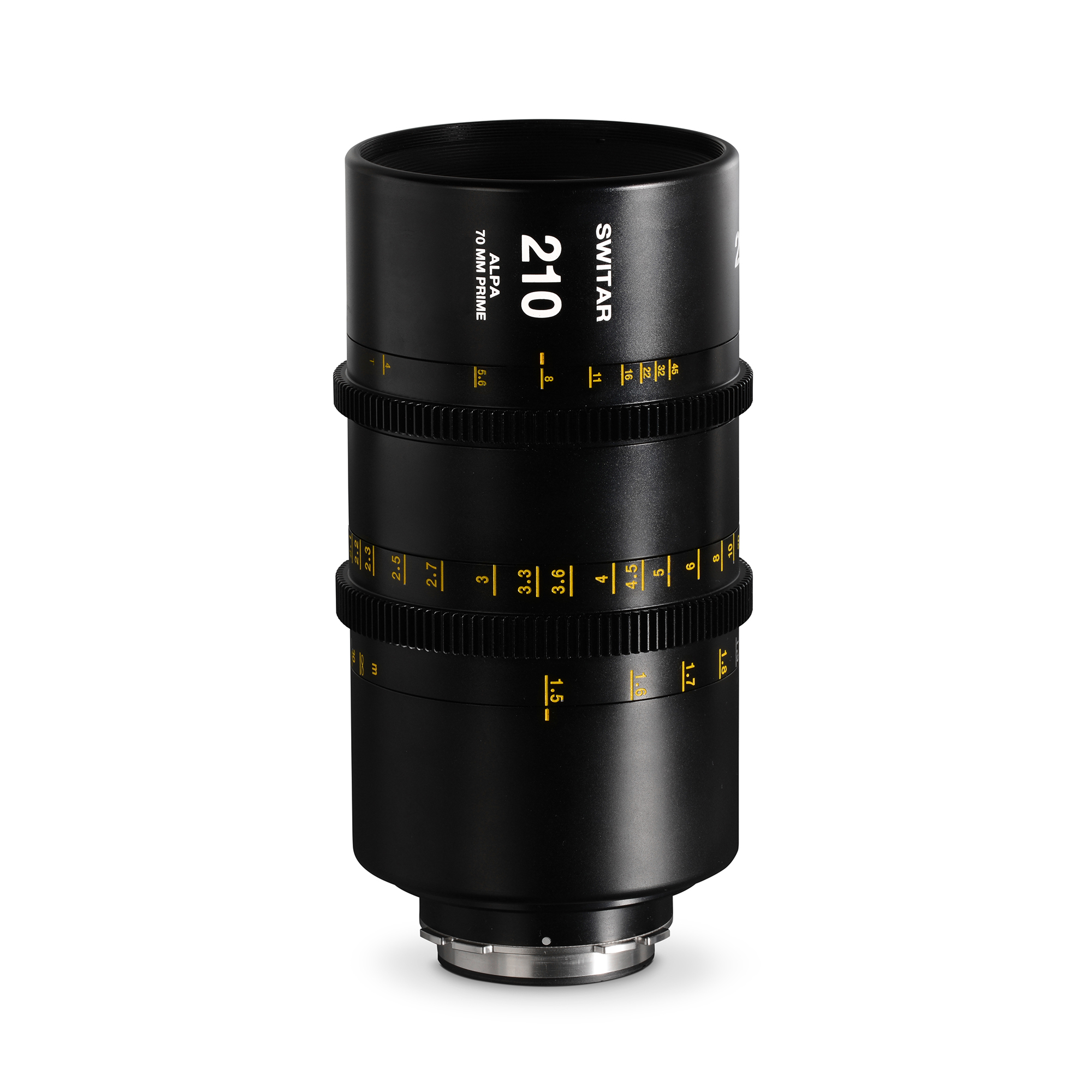ALPA Switar 4.0/210 mm Cine Prime IC 70 mm - meters