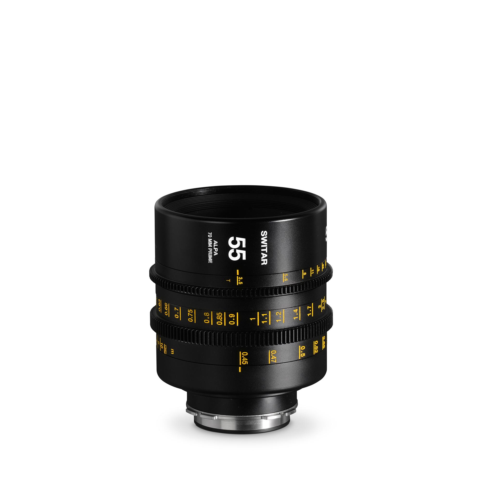 ALPA Switar 3.5/55 mm Cine Prime IC 70 mm - meters