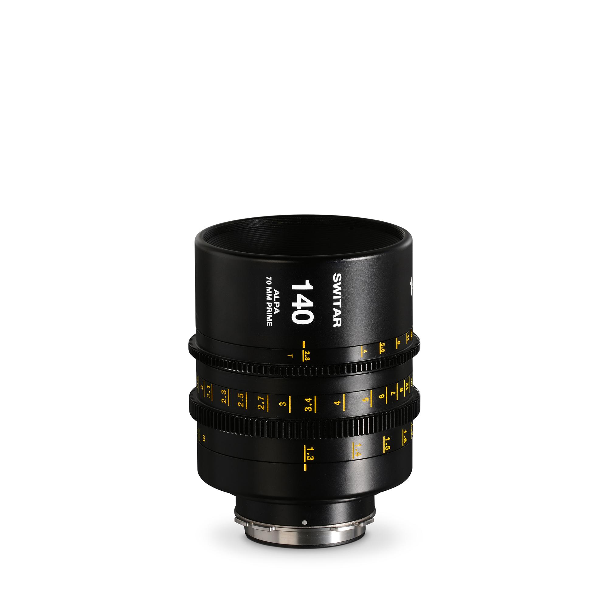 ALPA Switar 2.8/140 mm Cine Prime IC 70 mm - meters