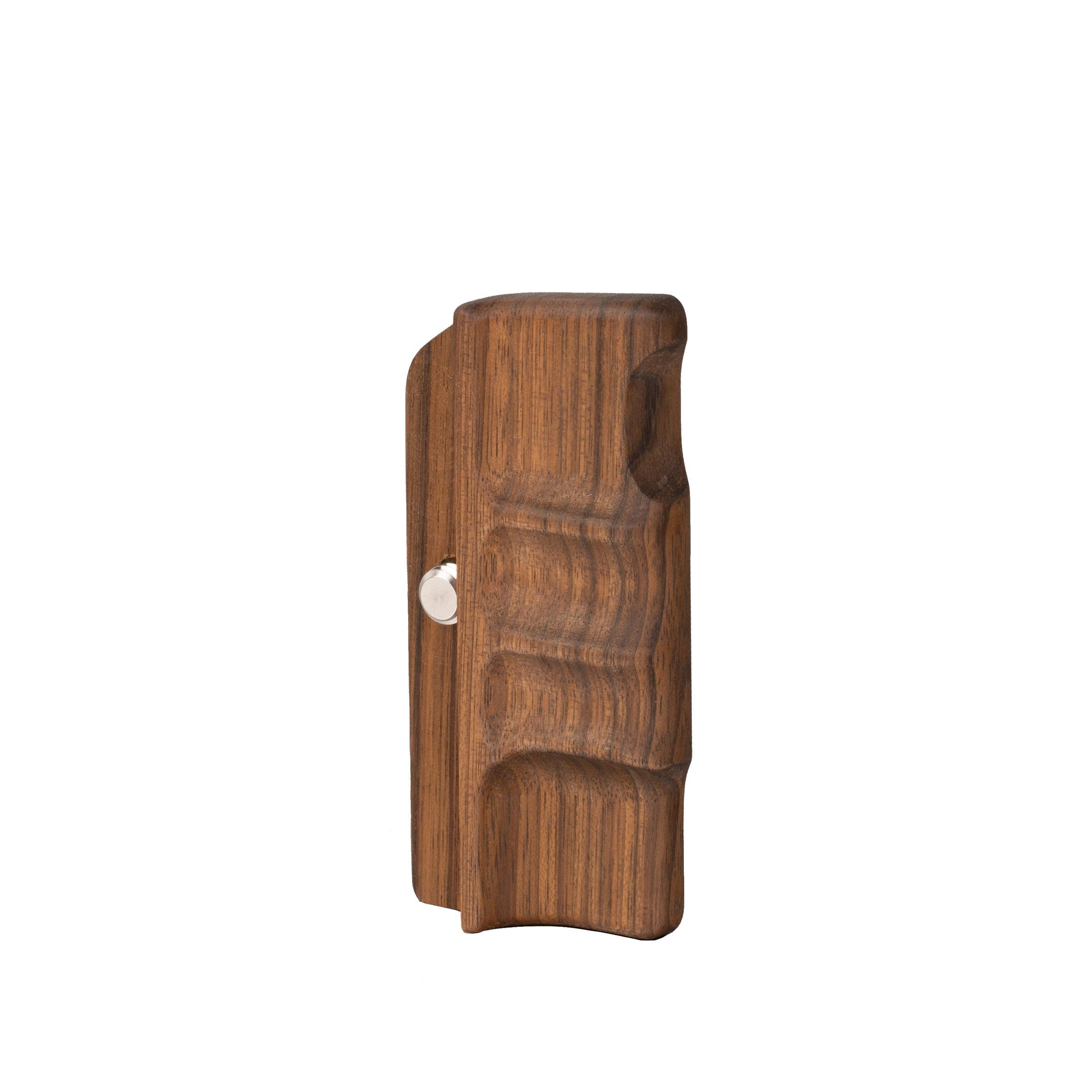 ALPA PLUS handgrip left, rosewood natural