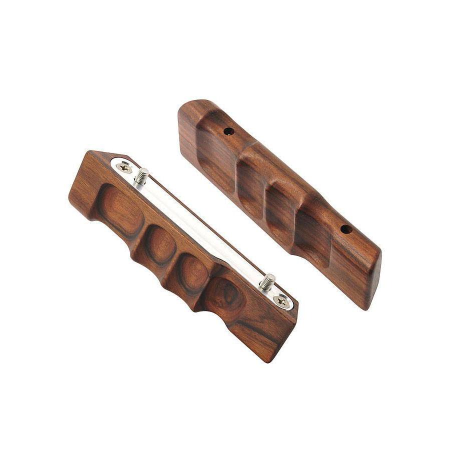 ALPA MAX/STC/PANO handgrip pair, rosewood natural