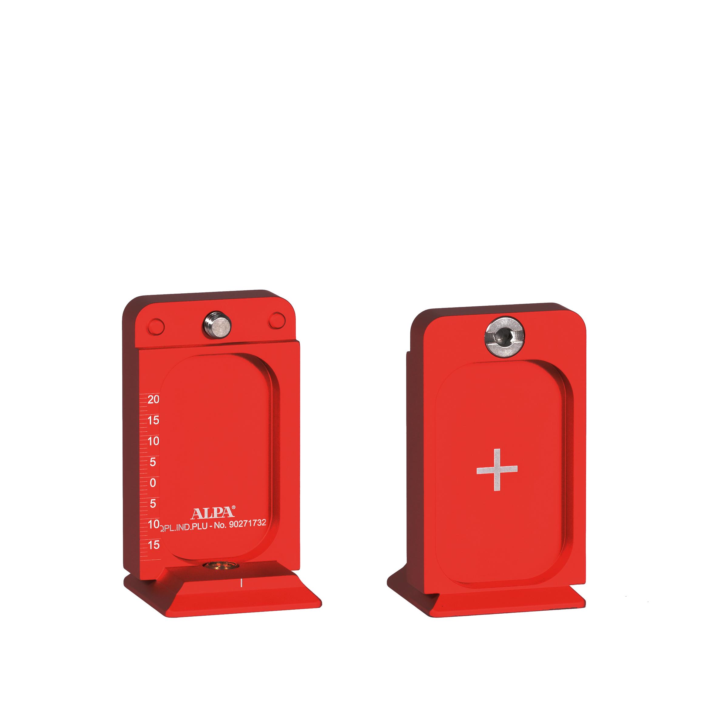 ALPA Adaptador de costura ALPA 12 PLUS, vermelho