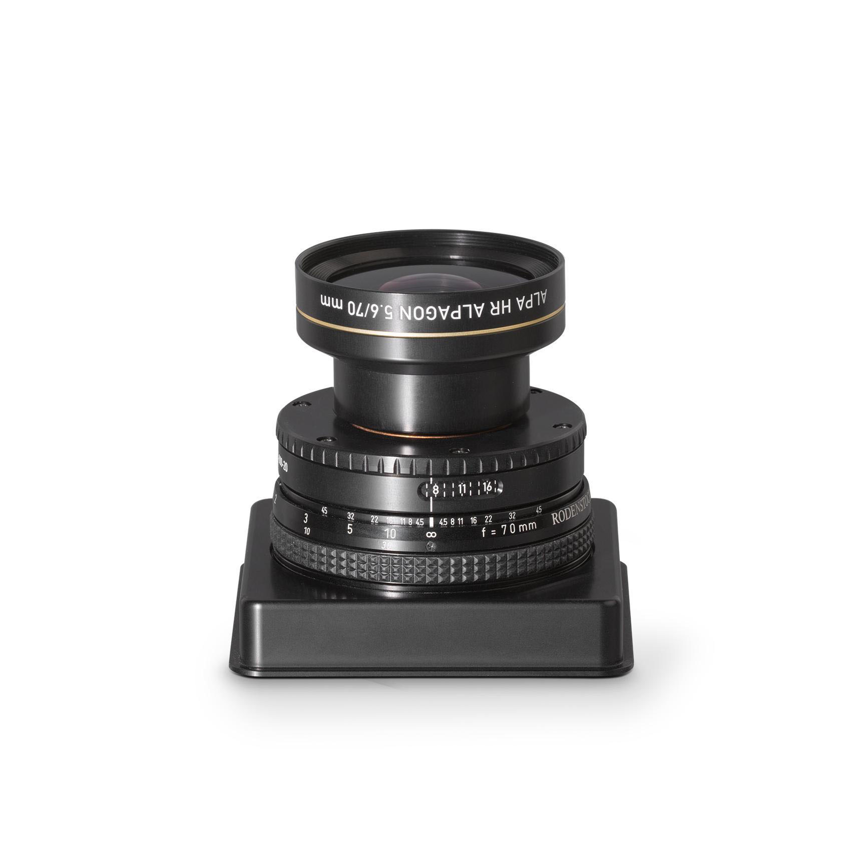 Rodenstock / ALPA HR Alpagon 5.6/70 mm, FPS SB17, in Aperture Unit
