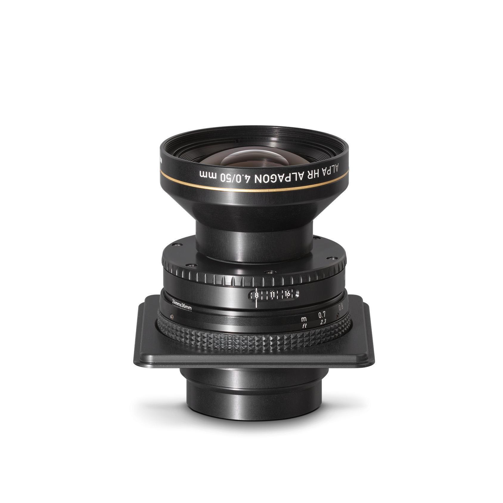Rodenstock / ALPA HR Alpagon 4.0/50 mm, SB34, in Aperture Unit