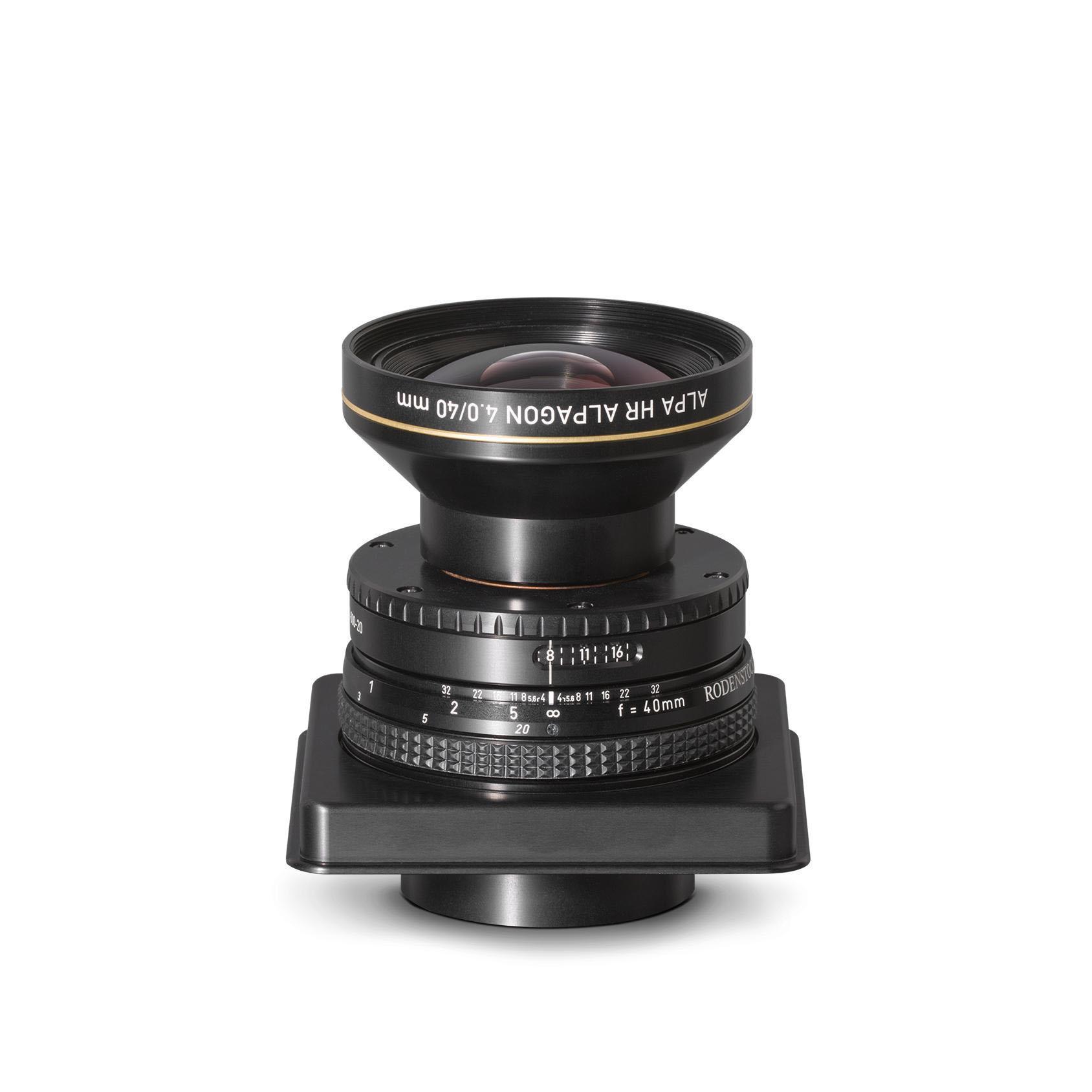 Rodenstock / ALPA HR Alpagon 4.0/40 mm, LB, in Aperture Unit