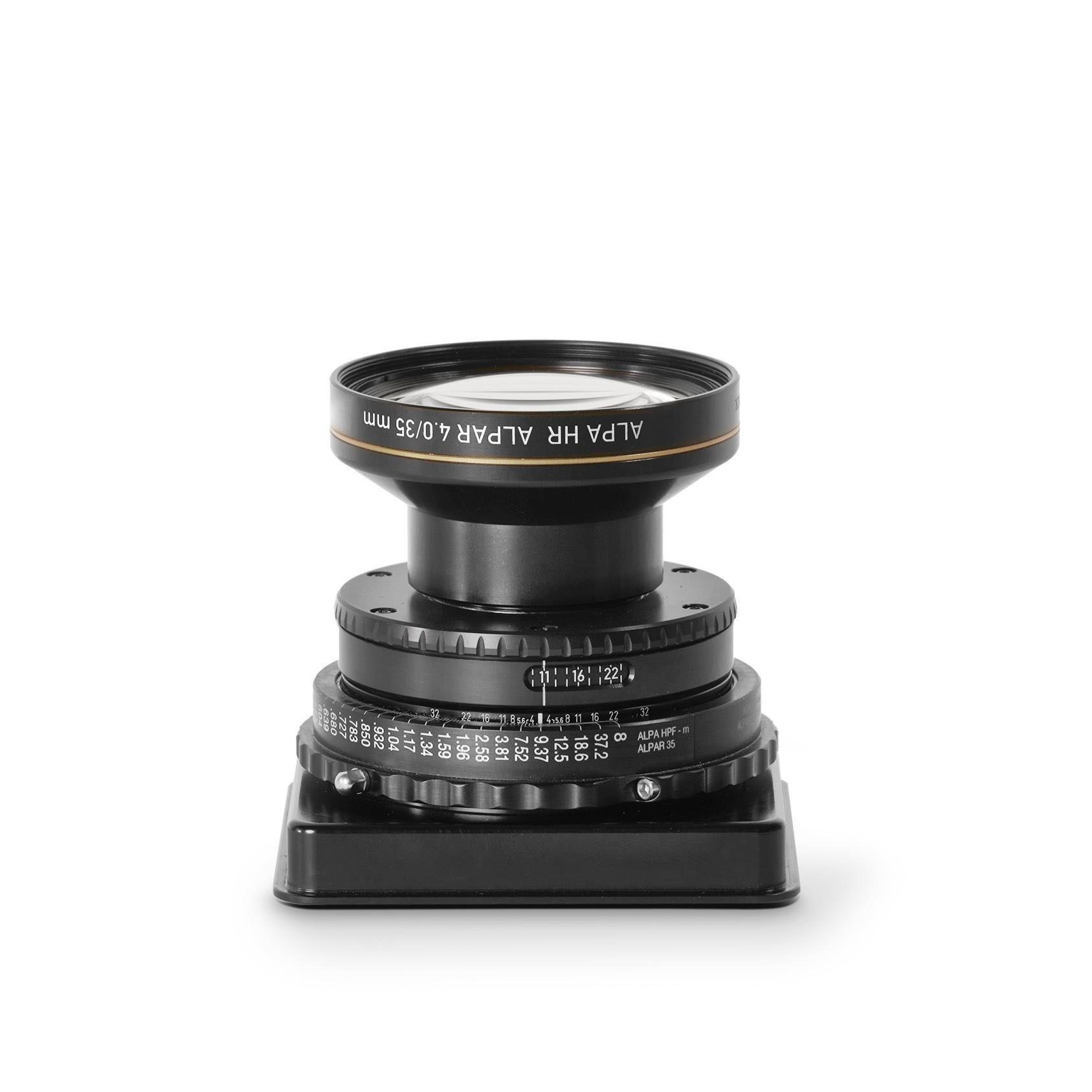 Rodenstock / ALPA HR Alpar 4.0/35 mm, LB, in Aperture Unit
