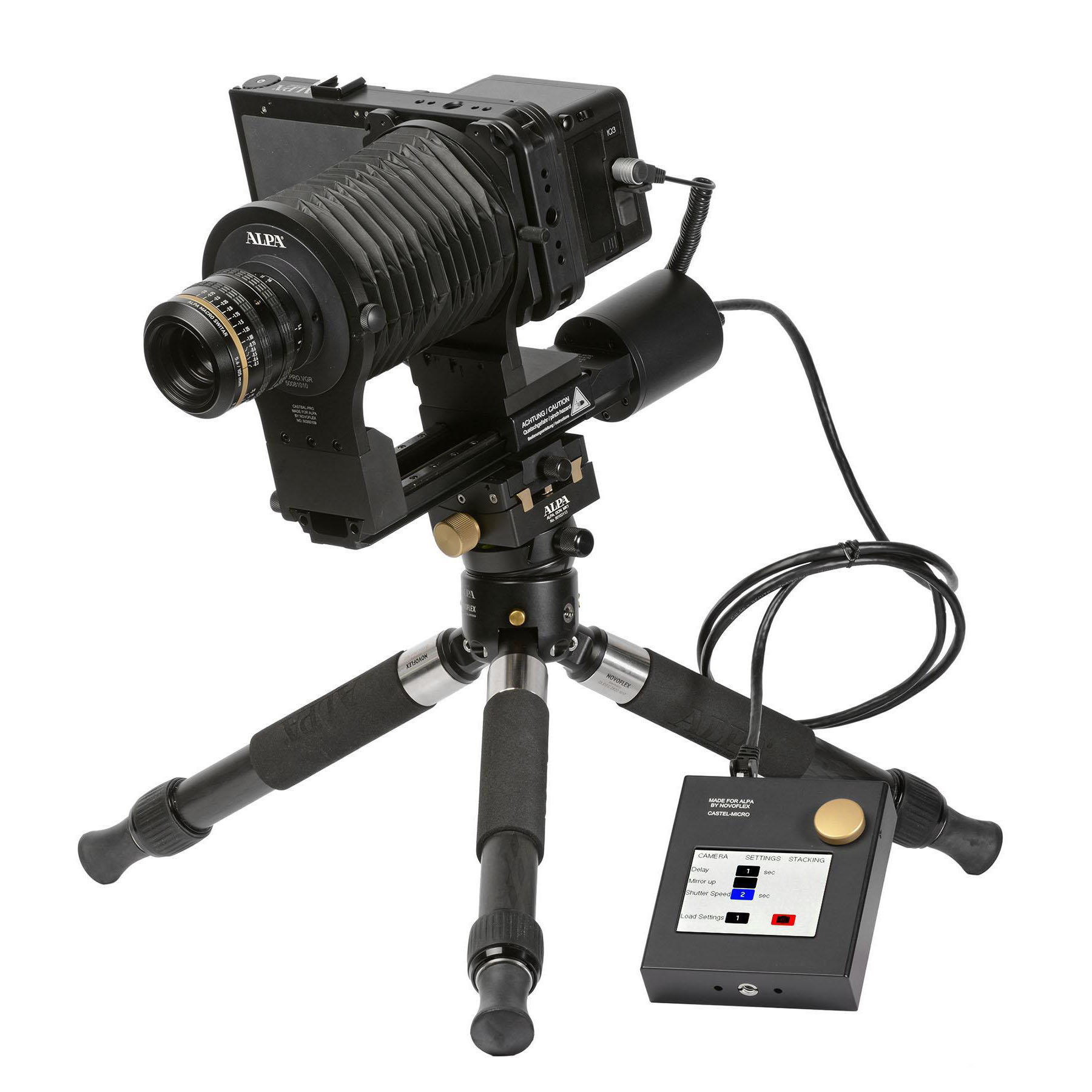 ALPA Focus Stacking Kit FPS/105 float