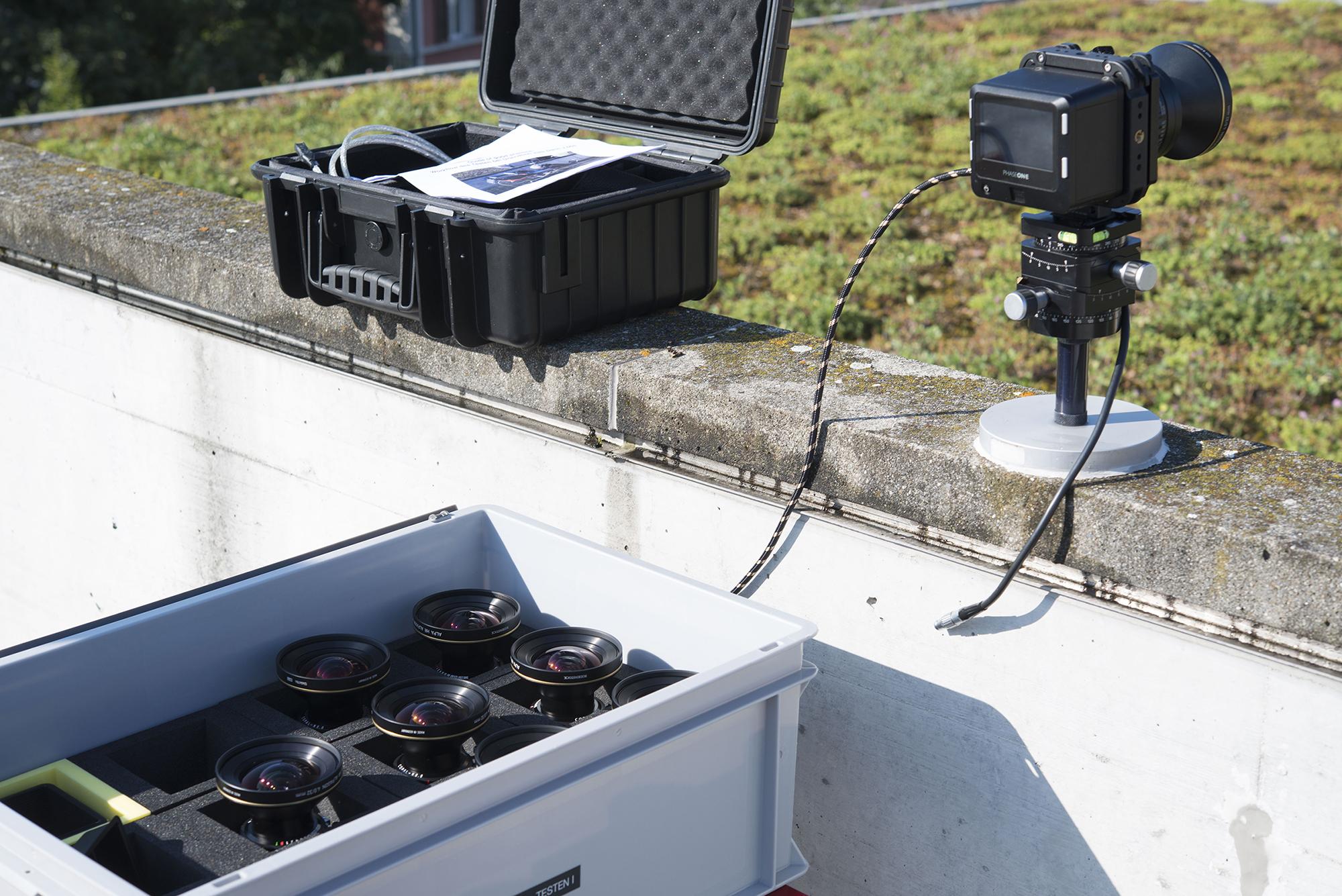 Not just random samples: ALPA thoroughly checks every single lens delivery.