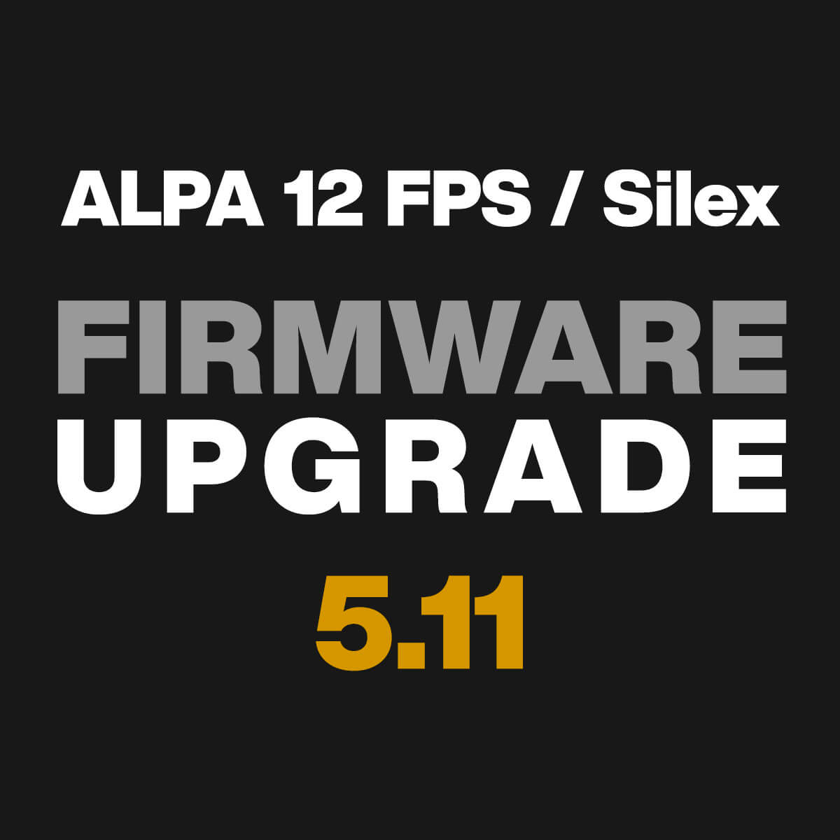 Firmware 5.11 - Exposure Lock