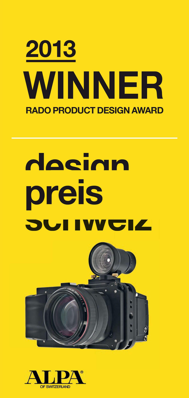 design preis schweiz 2013