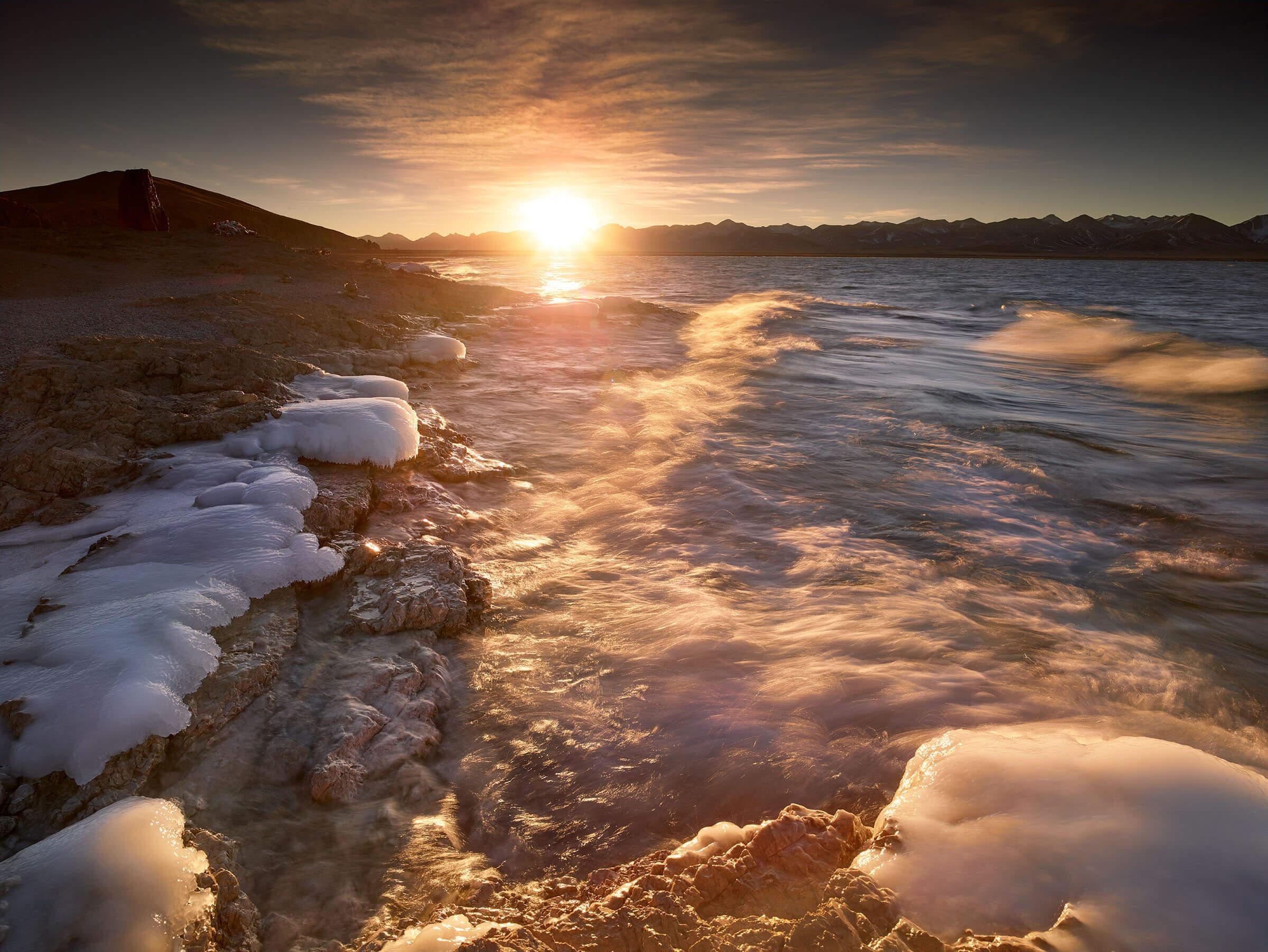 Chen Early Winter at Lake Namtso