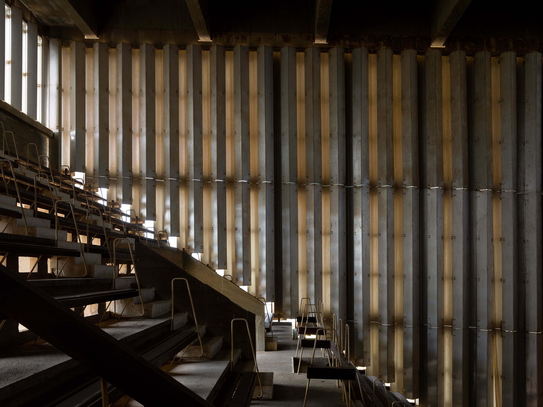 Bertrand Olympic Stadium by Vann Molyvann