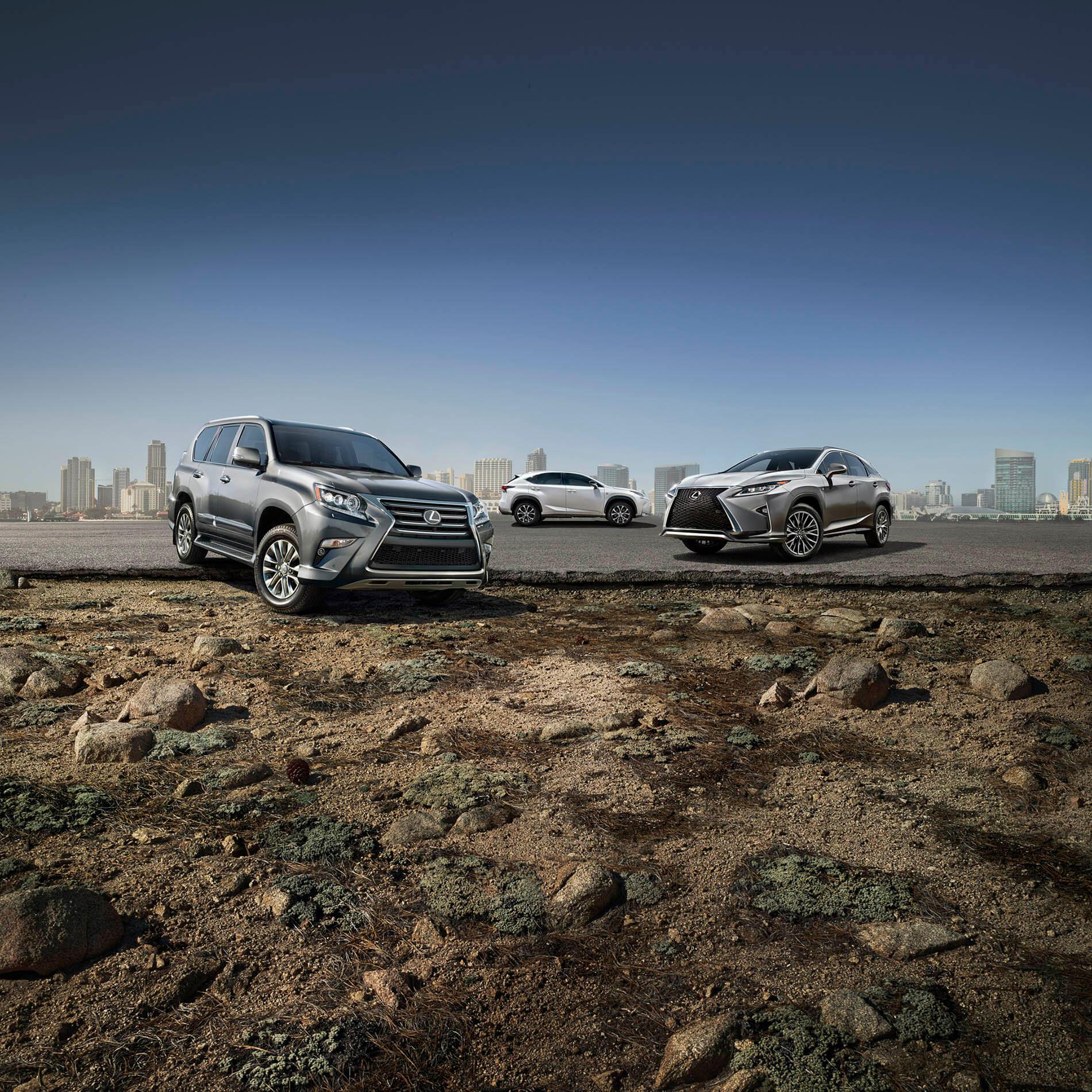 Bernstein Lexus LX & LS / SUV Lineup