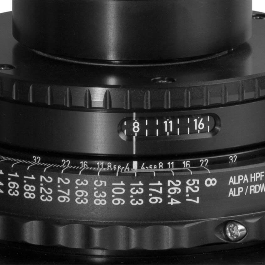 ALPA Lenses in Aperture Unit